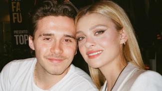 Brooklyn Beckham dan Nicola Peltz.