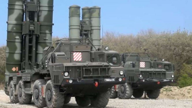 VIVA Militer: Rudal sistem pertahanan udara S-400.