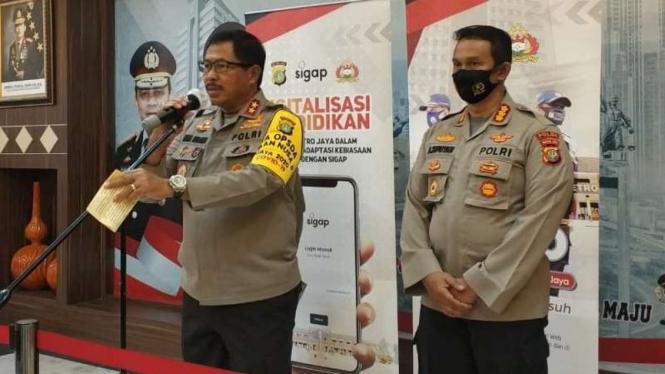 Kapolda Metro Jaya, Inspektur Jenderal Polisi Nana Sudjana