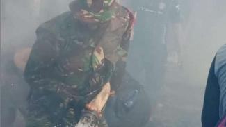 VIVA Militer: Personel TNI Kodim 1608/Bima, Bantu Atasi Kebakaran di NTB