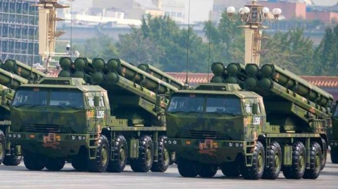 VIVA Militer: Peluncur roket militer China, Type PCL 191