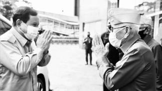 VIVA Militer: Menhan Prabowo Subianto Peringati Hari Veteran Nasional