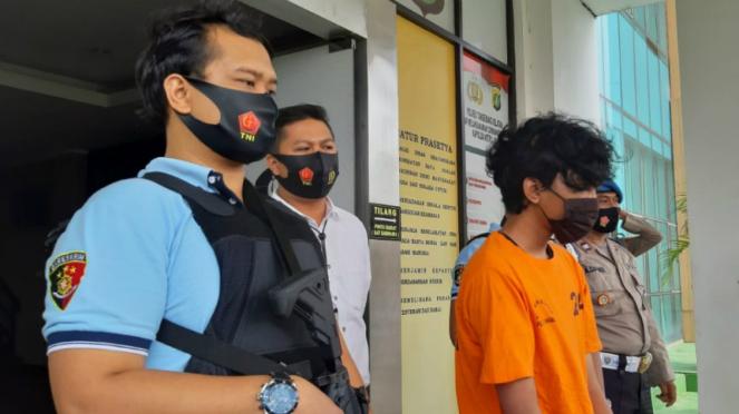 Pelaku pemerkosaan di Bintaro, Tangerang.