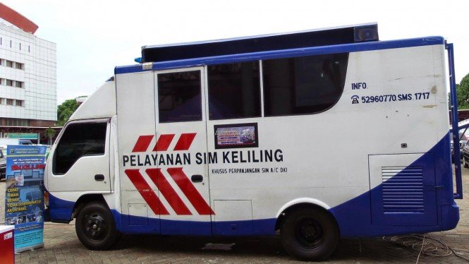 Mobil SIM Keliling