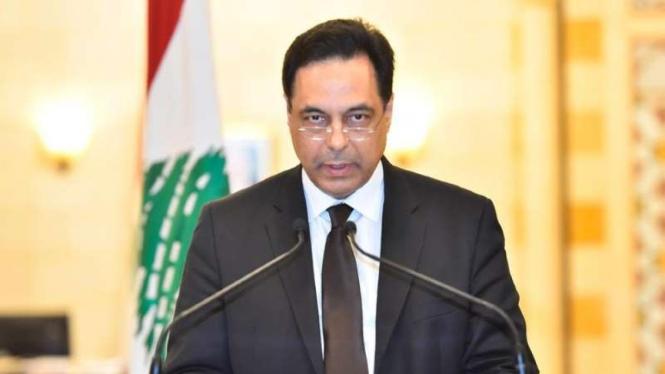 PM Lebanon Hassan Diab.