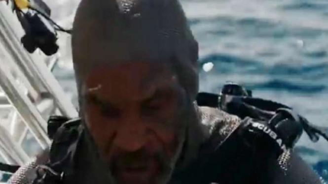 Mike Tyson jadi ayam sayur setelah lawan hiu pembunuh