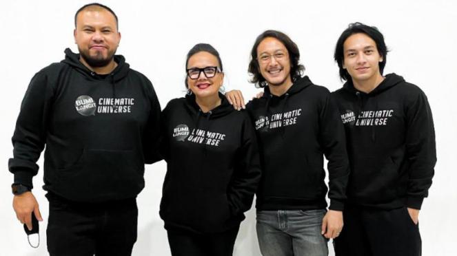 Joko Anwar, Christine Hakim, Dimas Anggara dan Jefri Nichol.