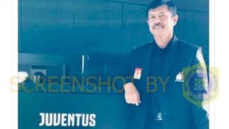 Tangkapan layar (screenshot) mantan pelatih tim nasional sepak bola Indonesia U-19, Indra Sjafri, saat berada di markas Juventus pada akhir 2018.
