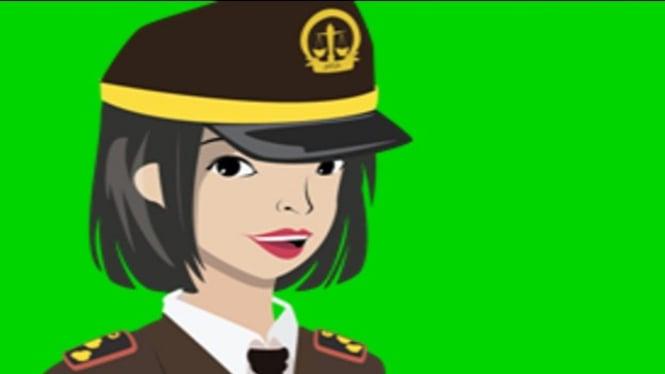 Ilustrasi kartun jaksa (Kejati-Jabar.go.id)