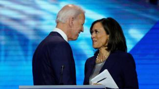 Joe Biden dan Kamala Harris.