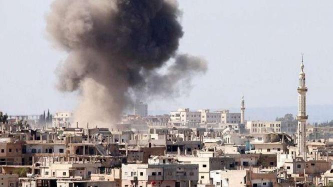 VIVA Militer: Ledakan di ibukota Suriah, Damaskus