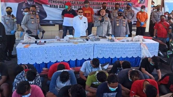 Sebanyak 45 Pesilat di Situbondo Jadi Tersangka Penyerangan