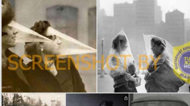 Tidak semua foto yang diunggah sumber klaim terkait dengan pandemi Flu Spanyol 1918.