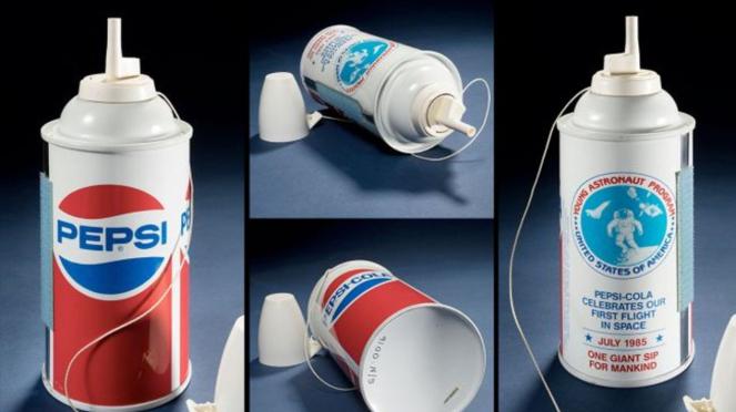 Kaleng Pepsi.