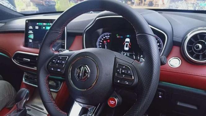Interior mobil baru MG HS