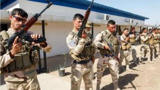 VIVA Militer: Tentara Iraq Berlatih Dengan Menggunakan Senjata AK-47