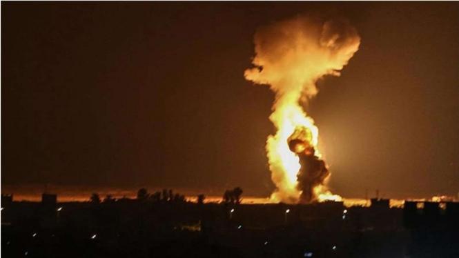 VIVA Militer: Serangan Balasan dari Israel Untuk Hamas