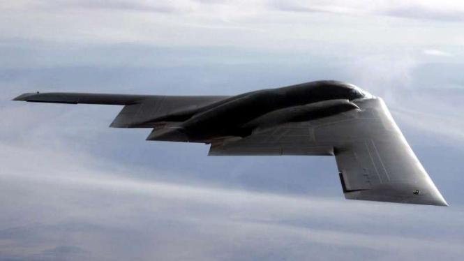 VIVA Militer: Pesawat pembom B-2 Spirit militer Amerika Serikat (AS)