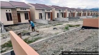 Ilustrasi rumah subsidi (Foto/Antara)