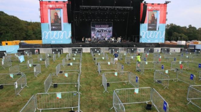 Konser Social Distancing Pertama di Dunia Digelar