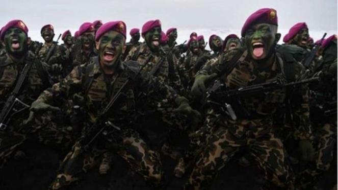 VIVA Militer : Prajurit Marinir TNI AL