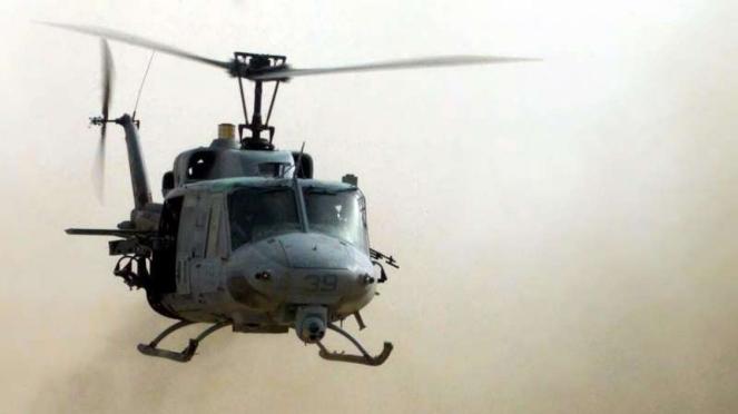 VIVA Militer: Helikopter Bell UH-1N Twin Huey Angkatan Udara AS