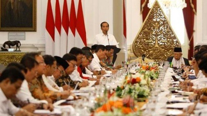 Rapat Terbatas Presiden Jokowi