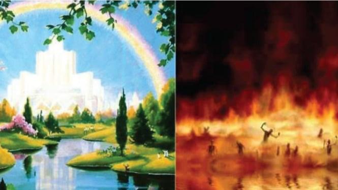 nama surga dan neraka