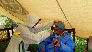 Manusia tertua yang sembuh dari Corona COVID-19