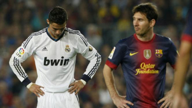 Cristiano Ronaldo versus Lionel Messi