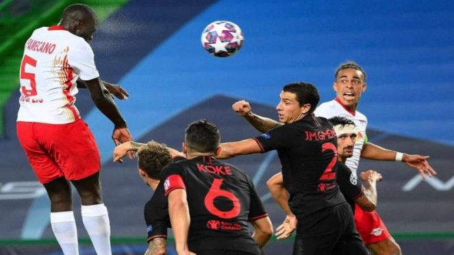 Pertandingan antara RB Leipzig vs Atletico Madrid