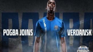 Pogba gabung klub baru, Verdansk FC