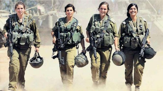 VIVA Militer: Tentara Perempuan Israel