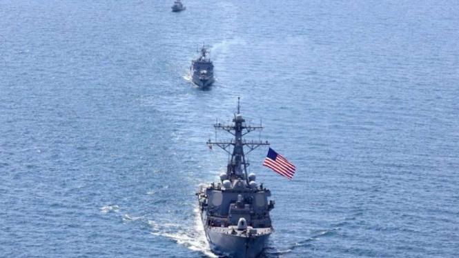 VIVA Militer: Kapal Perusak Amerika, USS Porter di Laut Hitam