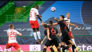 Duel RB Leipzig vs Atletico Madrid.