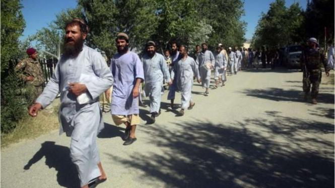 VIVA Militer: Pembebasan 80 Anggota Taliban di Afganistan
