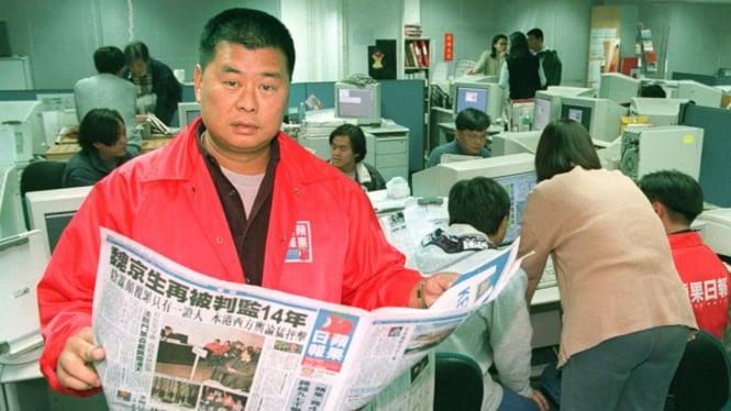 Kisah Koran Hong Kong yang Dijerat UU Keamanan Nasional China