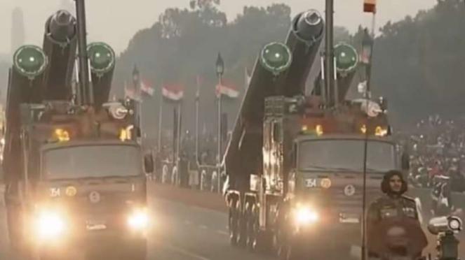 VIVA Militer: Parade senjata nuklir India.