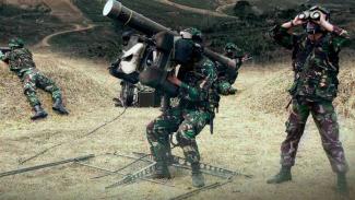 VIVA Militer: Rudal Pertahanan Pusat Kesenjataan Artileri Pertahanan Udara TNI.