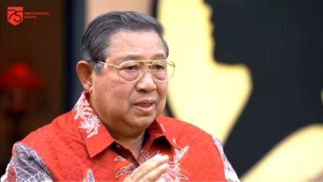 Presiden keenam RI Susilo Bambang Yudhoyono (SBY)