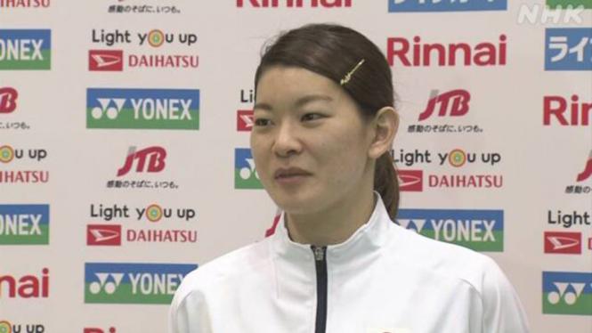 VIVA Bulutangkis: Pemain ganda putri Jepang, Ayaka Takahashi.