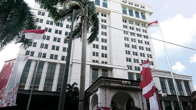 Gedung Otoritas Jasa Keuangan (OJK).