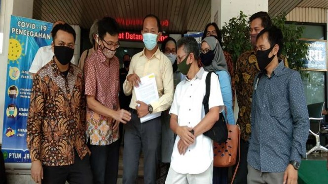 Para orang tua menggugat PPDB DKI Jakarta ke PTUN