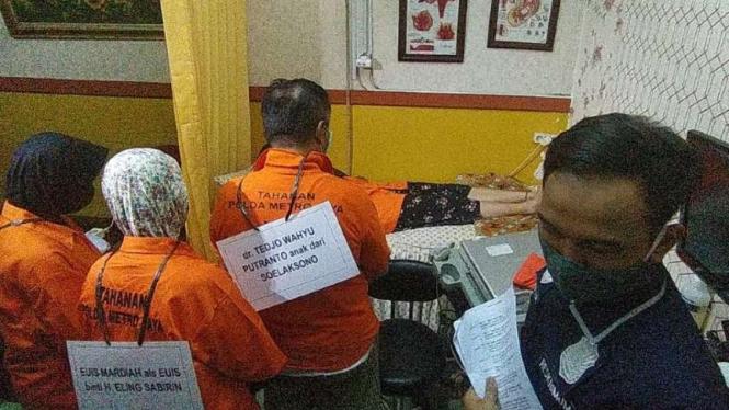 Rekonstruksi kasus klinik aborsi ilegal di Raden Saleh, Jakarta