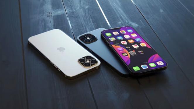 Bocoran gambar iPhone 12.