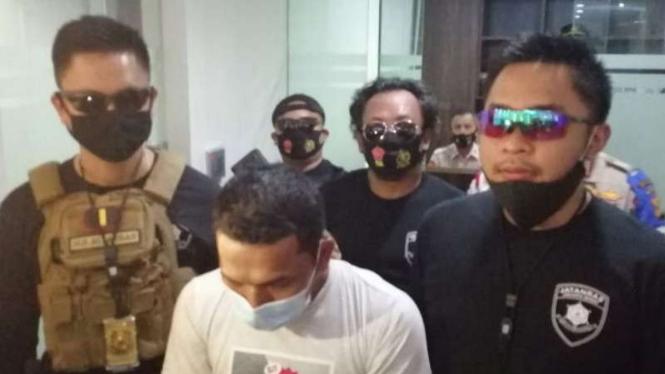 Tersangka penculikan anak di bawah umur ditangkap aparat Polres Jakbar.
