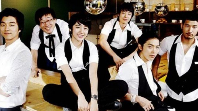 Cast drama Korea Coffee Prince.