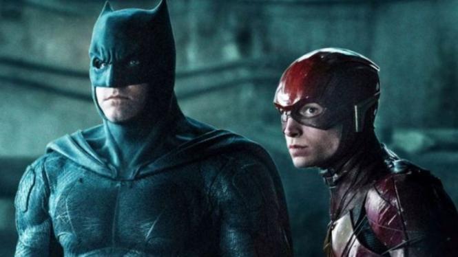 Batman dan The Flash.