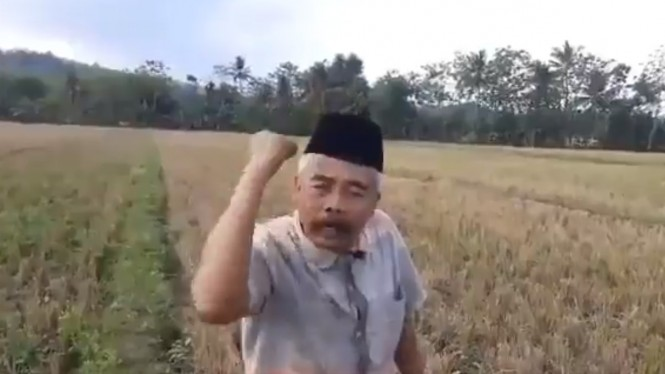 Pria yang mengaku Mantan Jenderal Banser, Syarif Hidayatullah