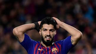 Striker Barcelona, Luis Suarez.